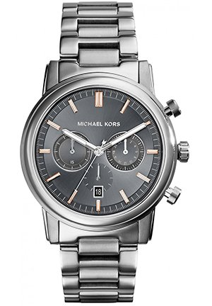 MICHAEL KORS Pennant Stainless Steel Bracelet Watch 43mm