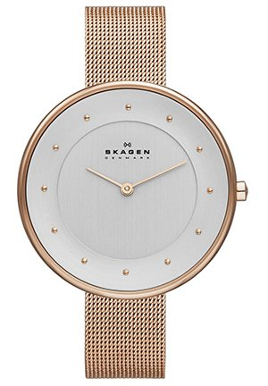 Women's Klassik Analog Display Analog Quartz Rose Gold Watch 38mm