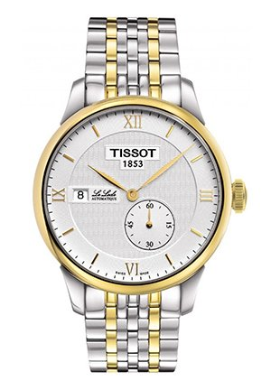 Le Locle Small Second Men's Automatic With Two-Tone Bracelet , T0064282203800 39.3mm