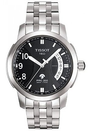 TISSOT Men's T-Sport PRC 200 Black T0144211105700, 38mm