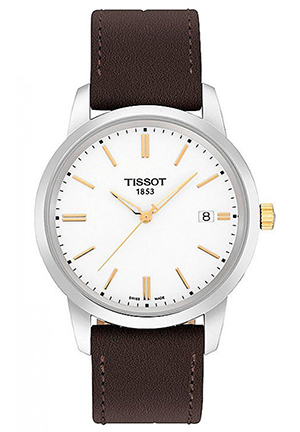 TISSOT T-Classic Dream White Dial Mens Watch T0334102601101, 40MM
