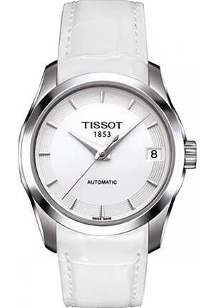 TISSOT Ladies' Couturier Automatic Watch T0352071601100, 32mm
