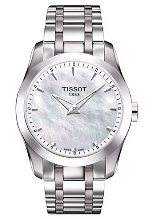 TISSOT Couturier Stainless Steel Ladies Watch T0352461111100, 33mm