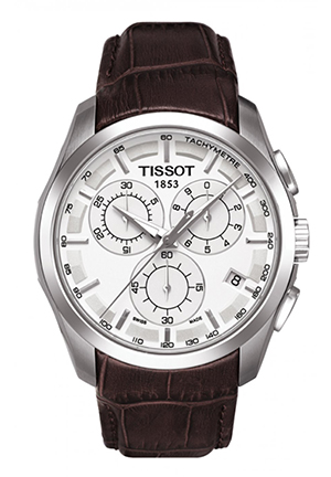 Couturier Men's Silver Chronograph Trend Watch, T0356171603100 41mm