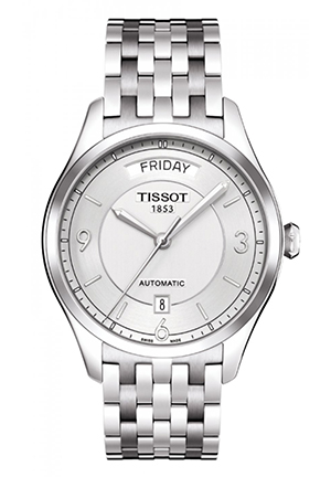 T-One Men's Silver Automatic Stainless Steel Watch T0384301103700, 38.5mm
