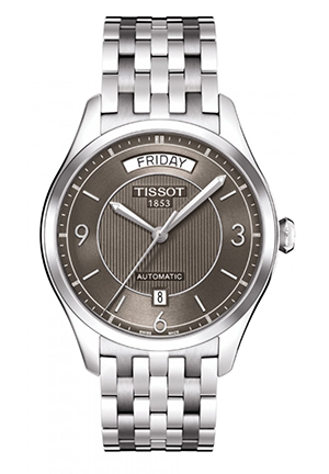 T-One Men's Anthracite Automatic Classic Watch T0384301106700, 38.5mm