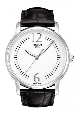 TISSOT T-Trend White Leather Ladies Watch T0522101603700, 38mm