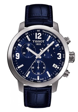 PRC 200 Men's Blue Chronograph Quartz Sport Watch T0554171604700, 42mm