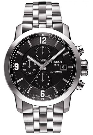 TISSOT PRC 200 Men's Automatic Chrono Watch T0554271105700, 44mm