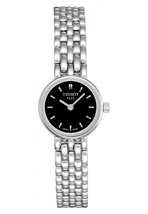 Lovely Women's Black Quartz Trend Dress Watch T0580091105100, 19.5mm