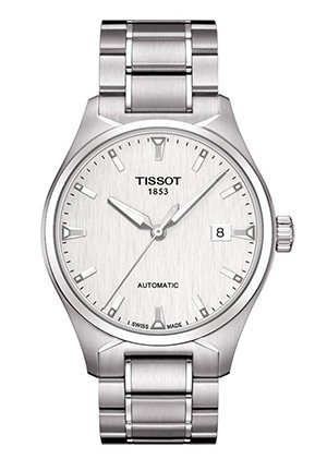 T-Tempo Men's Silver Automatic Classic watch T0604071103100, 39.5mm