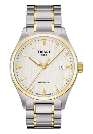 T-Tempo Men's Silver PVD Automatic Classic watch T0604072203100, 39.5mm
