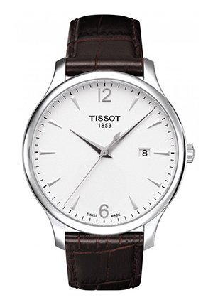 Tradition Men's Silver Quartz Classic watch , T0636101603700 42mm