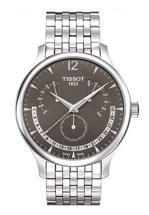 Tradition Men's Anthracite Quartz Classic Watch, T0636371106700 42mm