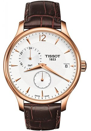Tradition Rose Gold-tone Mens Watch , T0636393603700 42mm