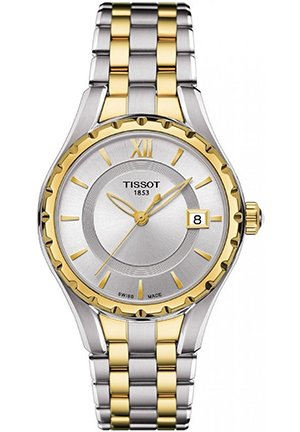 LADY T072 Quartz, T0722102203800 34mm