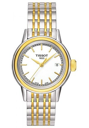 TISSOT Carson Two-tone Ladies Watch T0852102201100, 29mm