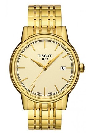 Champagne Dial Yellow Gold-plated Mens Watch , T0854103302100 40mm