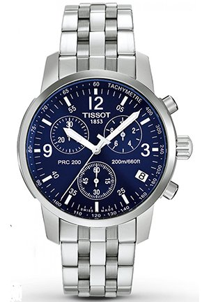 TISSOT Men's T-Sport PRC200 Chronograph Watch T17158642, 42mm