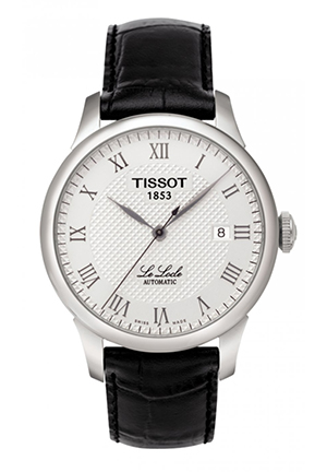 Le Locle Men's Silver Automatic Classic Watch T41142333, 39.3mm