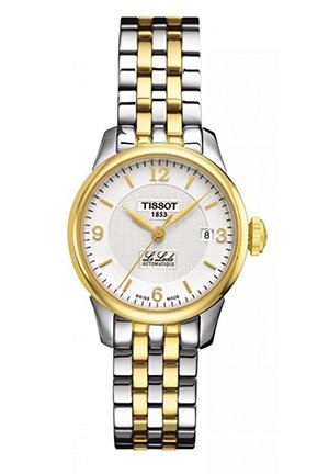 Le Locle Women's Automatic Silver PVD Classic Watch T41218334, 25.3mm
