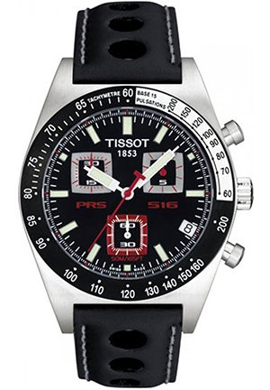 TISSOT PRS516 Analog Black Dial Men's Watch T91142651, 40mm