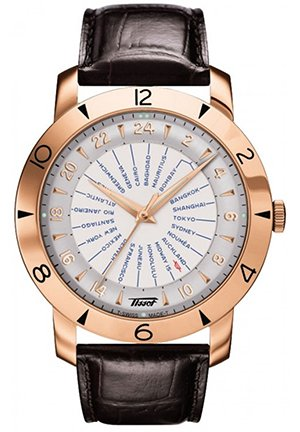 Automatic COSC with 18k Gold Case, T9156417603700 43mm
