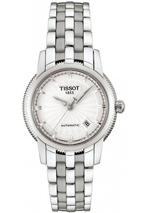 TISSOT Women's T-Ring White Dial Watch T97118331 28mm