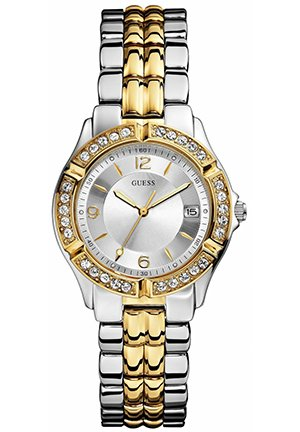 GUESS Watch, Women's Two-Tone Stainless Steel Bracelet 36mm