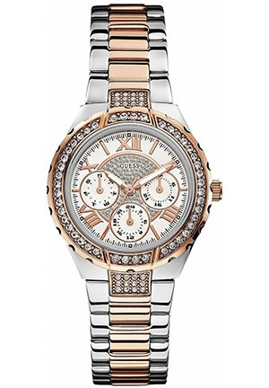 Rose Gold-Tone and Silver-Tone Sparkling Watch 37mm