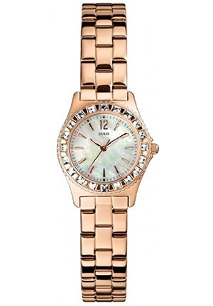 GUESS NEW! GUESS Watch, Women's Gold-Tone Bracelet 27mm