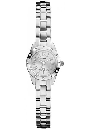 GUESS Women's Analog Display Quartz Silver Watch 21mm