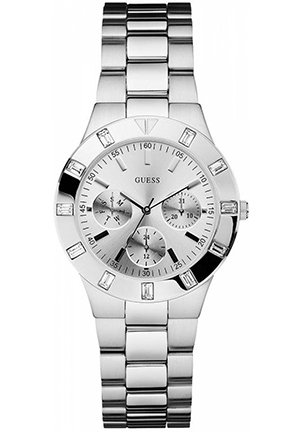 GUESS Watch, Women's Stainless Steel Bracelet 36mm