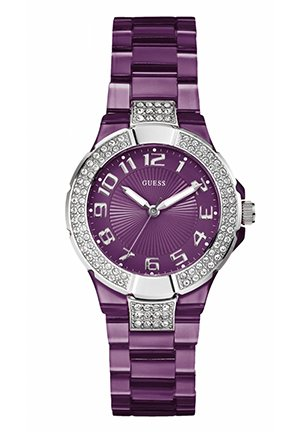 GUESS Watch, Women's Polycarbonate Bracelet 36mm