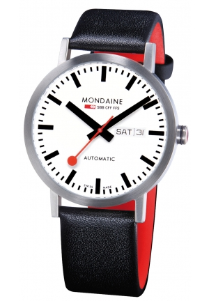 Mondaine Classic Automatic Day Date 40 mm