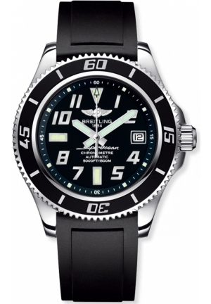 BREITLING Superocean Automatic Black Dial Stainless Steel 42mm