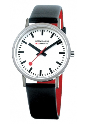 Mondaine Classic Polished 36 mm