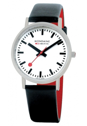 Mondaine Classic Brushed 36 mm