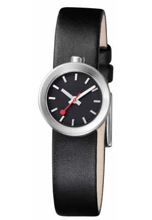Mondaine Aura Black 22 mm