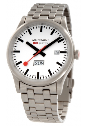 Mondaine Sport Day Date 41 mm