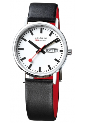 Mondaine Classic Day Date 36 mm