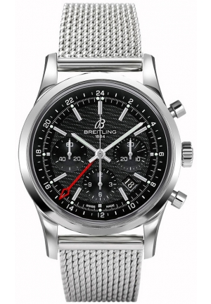 BREITLING TRANSOCEAN CHRONOGRAPH GMT AB045112|BC67|154A, 43mm