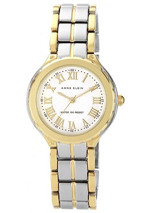Anne Klein Watch, Women's Two-Tone Bracelet 32mm