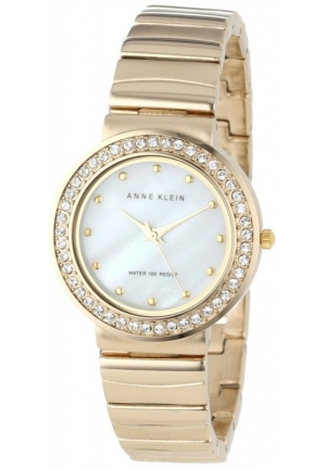 Anne Klein Women's Stainless Steel Bracelet Watch