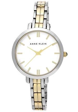 Women's Two-Tone Adjustable Bracelet Watch 33mm