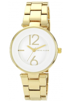 Anne Klein Women's Gold Stainless Steel Bracelet