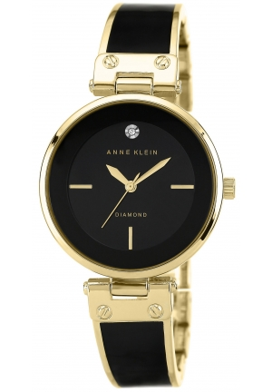 Anne Klein Watch, Women's Diamond Accent 32mm