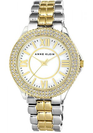Anne Klein Women's Two-Tone Bracelet Watch 38mm
