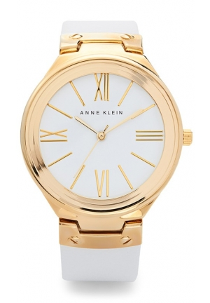 Anne Klein Women's  Watch with Leather Band