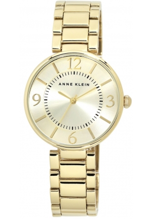 Anne Klein Women's Gold-Tone Bracelet Watch 34mm